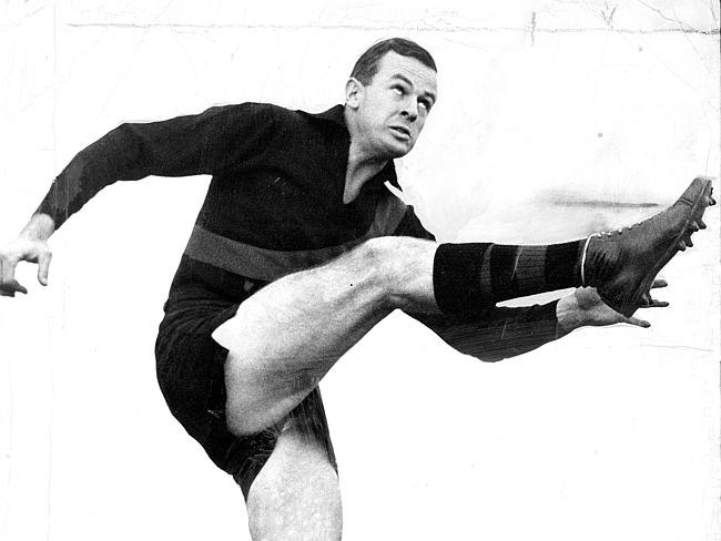 After finishing his playing career at Essendon, John Coleman went to be the coach for his team