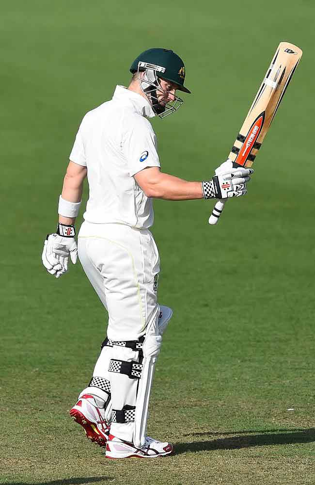 Peter Nevill was the only batsman to add a respectable 50 plus to the scoresheet.