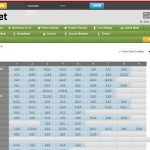 Luxbet horse racing betting page screenshot